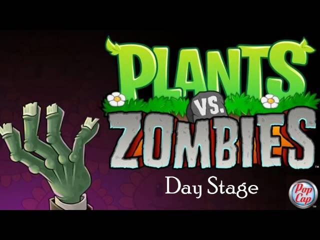 Plants vs Zombies Soundtrack. [Day Stage]