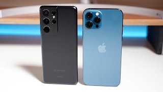 iPhone 12 Pro Max vs S21 Ultra 5G - Which Should You Choose?