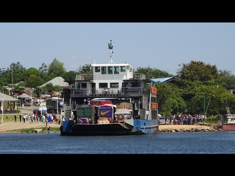 3 minute ferry boat ride turns into 3 hour adventure in Tanzania