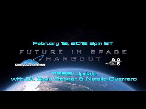 TESS Update with Sara Seager and Natalia Guerrero