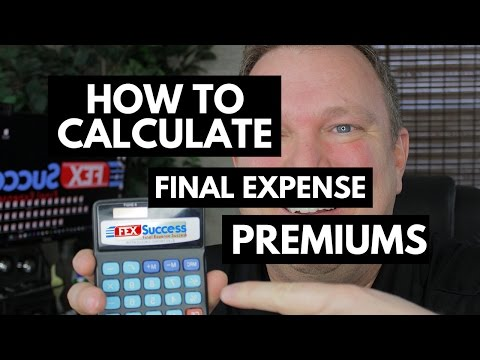 Final Expense Calculating Quotes | Calculating Final Expense Premiums