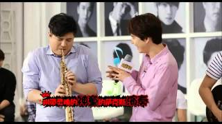 140808 Ultimate Group Super Junior - Kyuhyun Sing and Tap dance