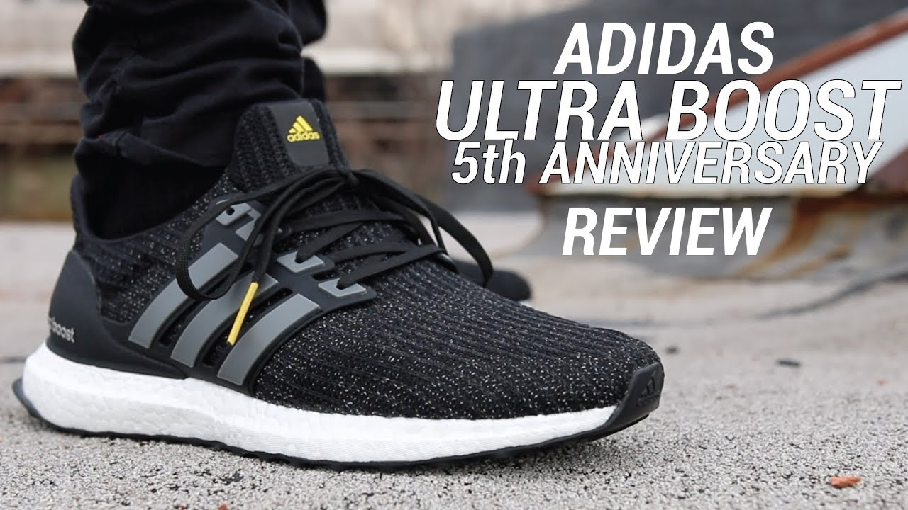 ebd01ba22e88 ADIDAS ULTRA BOOST 4.0 5th ANNIVERSARY REVIEW - YouTube