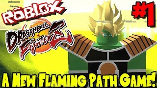 UN NOUVEAU JEU DE PATH FLAMING! Roblox: Dragon Ball FighterZ - Épisode 1