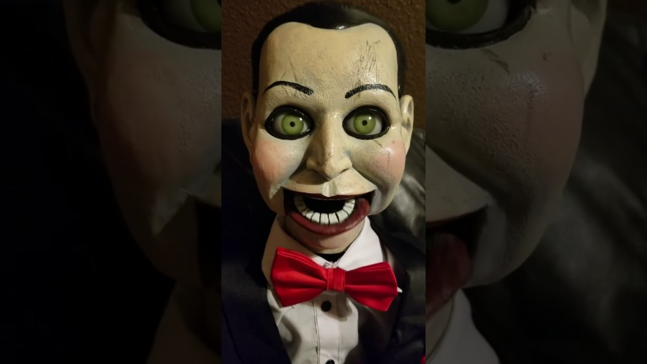 Halloween Dead Silence Billy Life Size Puppet Prop Trick Or Treat Studios NEW