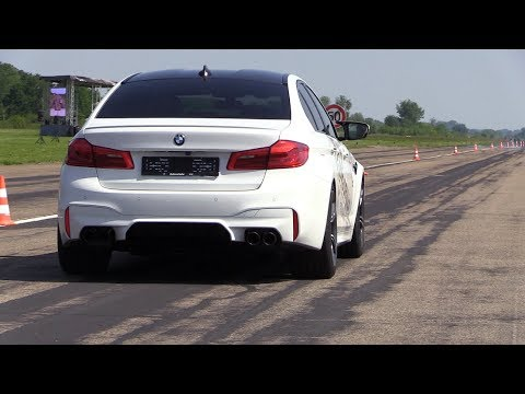720hp bmw m5 f90 gorilla performance revs drag racing. Black Bedroom Furniture Sets. Home Design Ideas