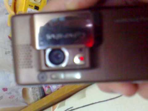 sony ericsson k800i camera