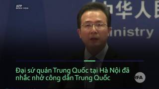 Khách Trung Quốc bị đánh vì không cho tiền hải quan Việt Nam?