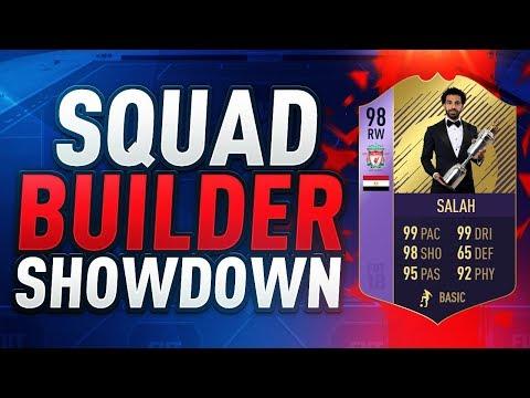 FIFA 18  POTY SQUAD BUILDER SHOWDOWN vs AJ3  PLAYER OF THE YEAR MO SALAH