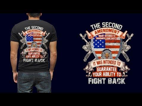 US Army T-Shirt Design - Military T-Shirt Design Illustrator Tutorial - Typography T-Shirt Design