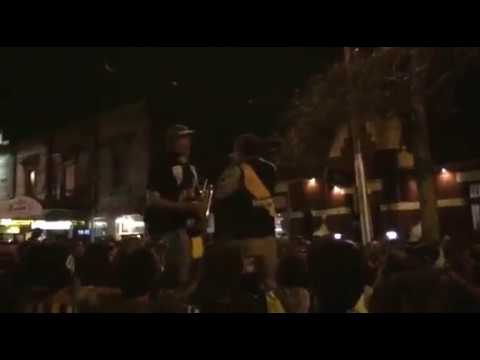 Swan Street after the Grand Final, Richmond Song, and one for Dusty