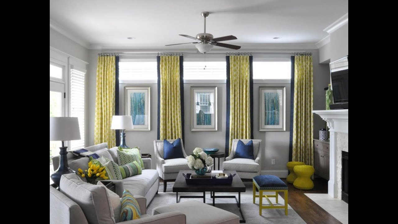 Window Treatment Ideas Modern Living Room Contemporary Furniture Design Mentor Awesome For Youtube