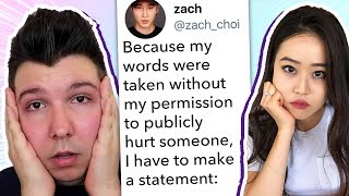 Zach Choi Leaks DMs After Seeing What Nikocado Avocado Did to Stephanie Soo