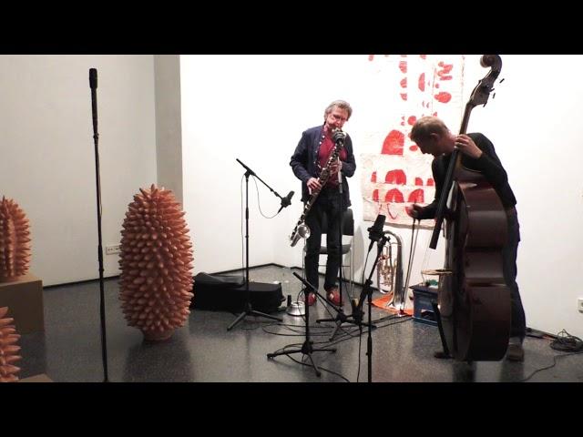 Udo Schindler und Thomas Stempkowski live in der Galerie arToxin, Teil 1
