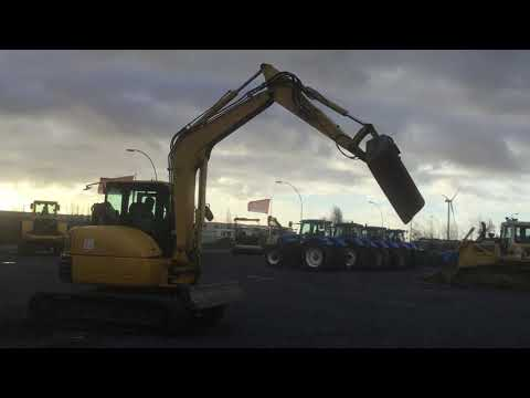Used Komatsu PC80MR-3 - 2010 for sale | Used midi excavator