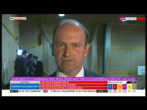 Douglas Carswell UKIP on election prospects, 7th May 2015