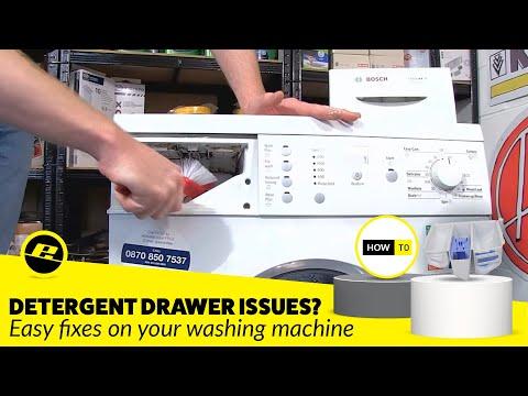 how to clean bosch washing machine dispenser