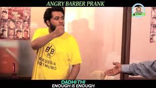 Angry barber prank by nadir ali n asim sannata