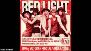 fx 뱉어내 spit it out 3집 red light
