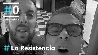 LA-RESISTENCIA-Buenafuente-y-Broncano-en-Gran-Vía-LaResistencia-01-02-2018