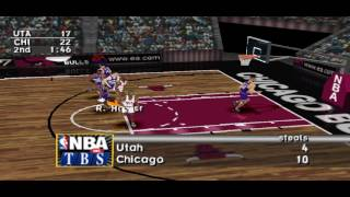 NBA Live 97 PS1 Gameplay HD