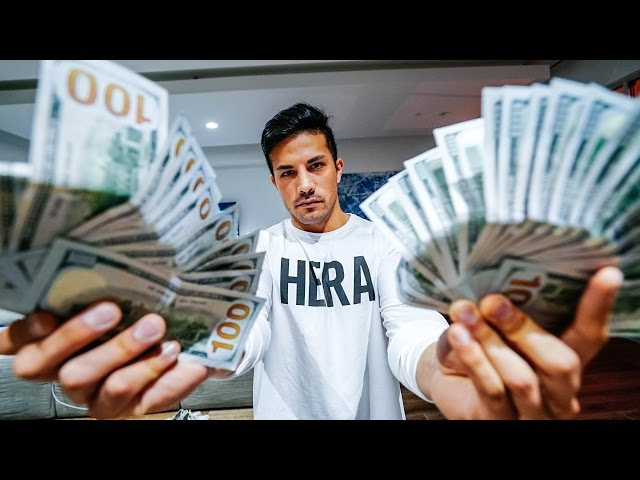 I'M GIVING AWAY $25,000 DOLLARS (NOT CLICKBAIT) | VLOG 43