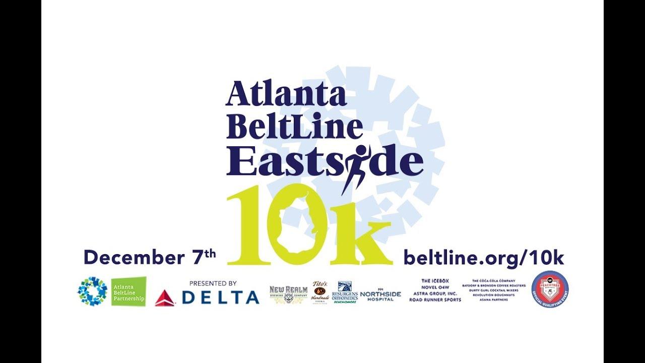 2019 Atlanta BeltLine Eastside 10k   Route Preview