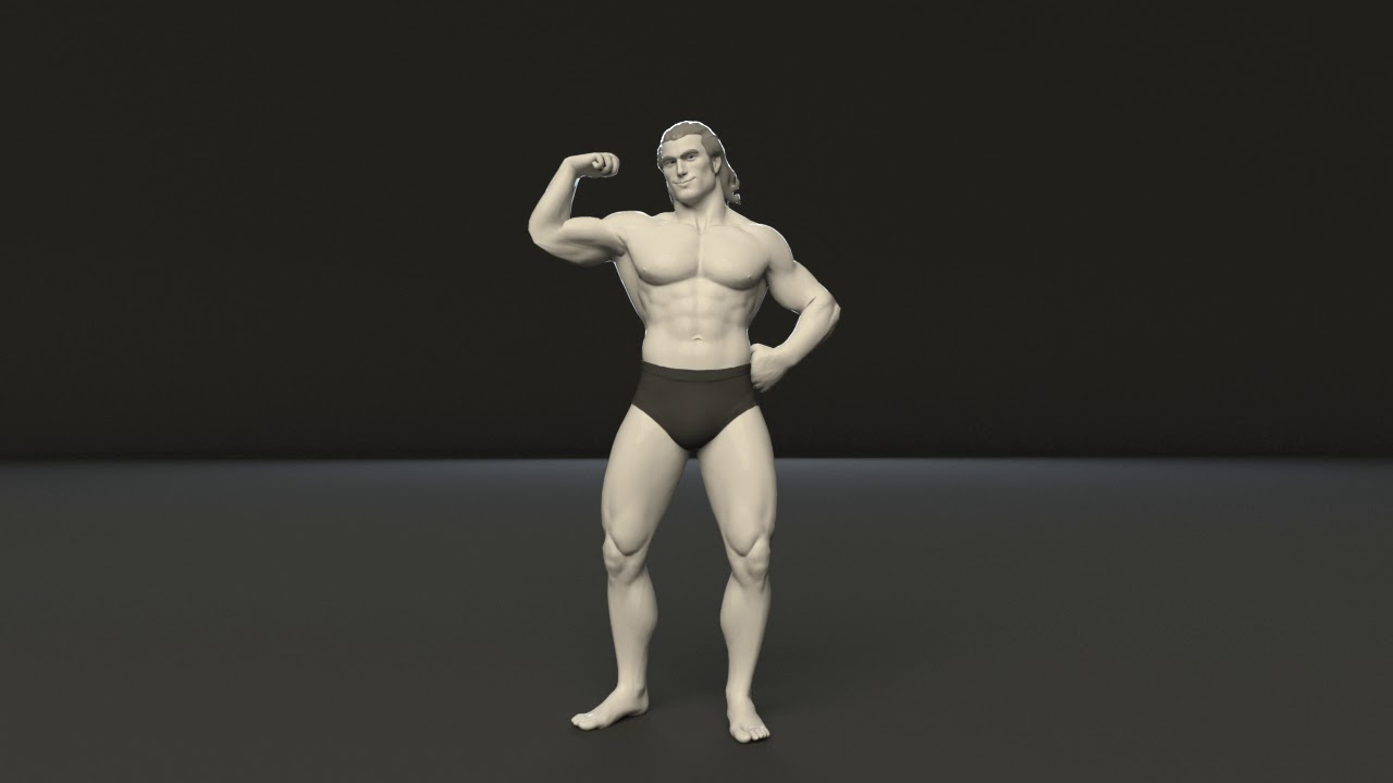 Mike Freeman Maya Rig - Free for download and animate