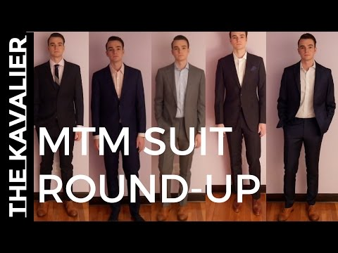 MADE TO MEASURE SUIT REVIEW SHOWDOWN - Indochino Vs Suit Supply Vs Oliver Wicks And More