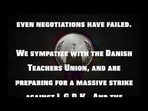 Anonymous -- Operation Lockout Denmark -- Warning