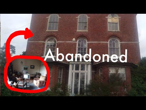 Exploring an Amazing 400 Year Old Abandoned Sleepy Hollow Mansion With Priceless Antiques