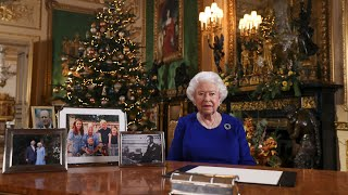 """Merry christmas to all!this year marked the 75th anniversary of d-day and in queen's broadcast her majesty reflects on commemorations.""""for ..."""