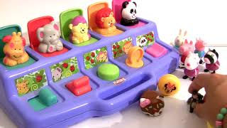 Kinder egg Lalaloopsy Peppa Minnie Mouse Shopkins Toy Story 4 Num Noms Pop Up Surprise toys