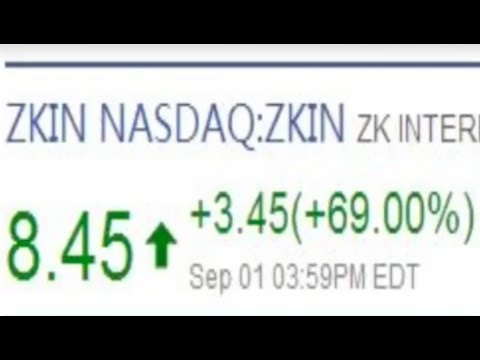 ZK International (Nasdaq:ZKIN) IPO and Stock Listing, Chinese TV Coverage