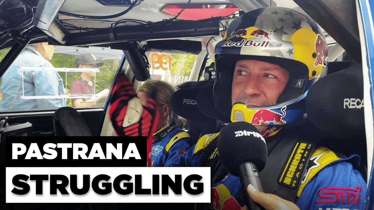 Pastrana Stalls Out at New England Forest Rally 2021