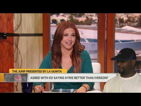 Kevin Durant Says Kyrie Irving Is Better...