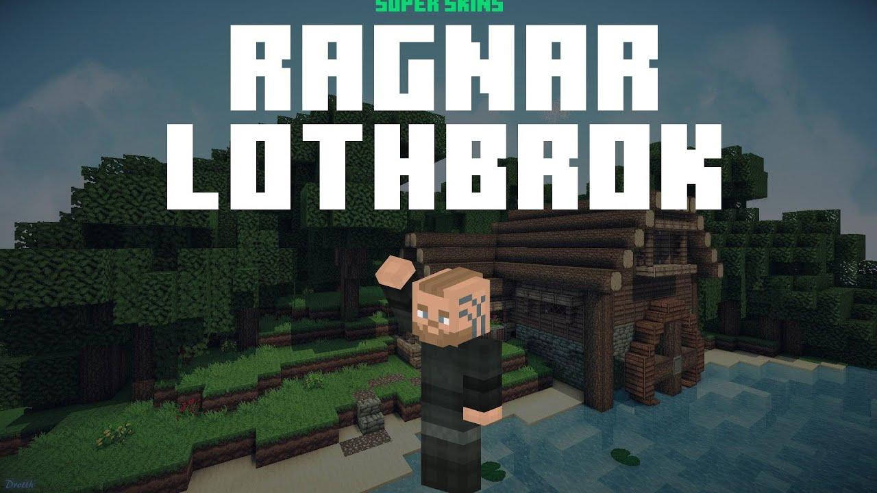 Best Ragnar Lothbrok Minecraft Skin ⚡ Download & Install Links ⚡ Ragnar  Lothbrok