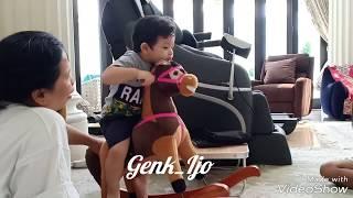 Arsya suka naik kuda2an - Live Cinere 😍