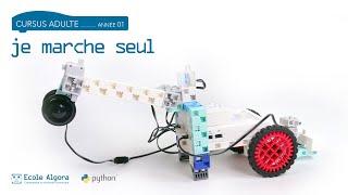 Coder un robot qui apprend à marcher - Cours 10 du cursus Algora (adulte)