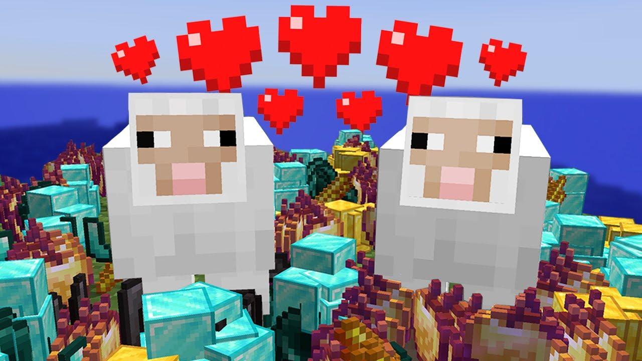 Download Minecraft, But Breeding Drops OP Items