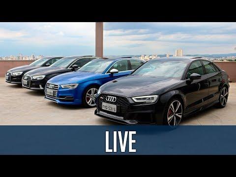 Live: Conheça a família completa do Audi A3, até o RS3!