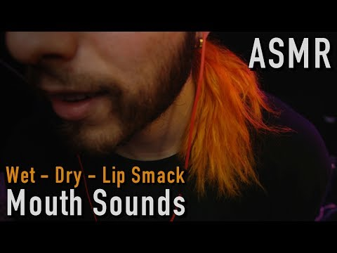 Lip Smacking, Wet & Dry Mouth Sounds | ASMR |