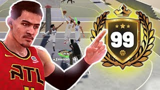 99 OVERALL TRAE YOUNG DEEP THREES ANKLE BREAKERS NBA 2K19