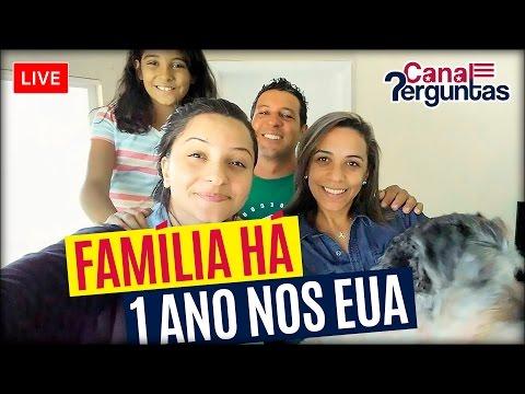 🔴[AO VIVO] Família que começou a vida nos EUA com 600 dólares! ✔