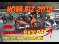 NOVA HONDA BIZ 125 2018   PREÇO, CORES E DETALHES BIZ 2018