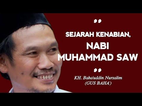 GUS BAHA | SEJARAH KENABIAN NABI MUHAMMAD SAW