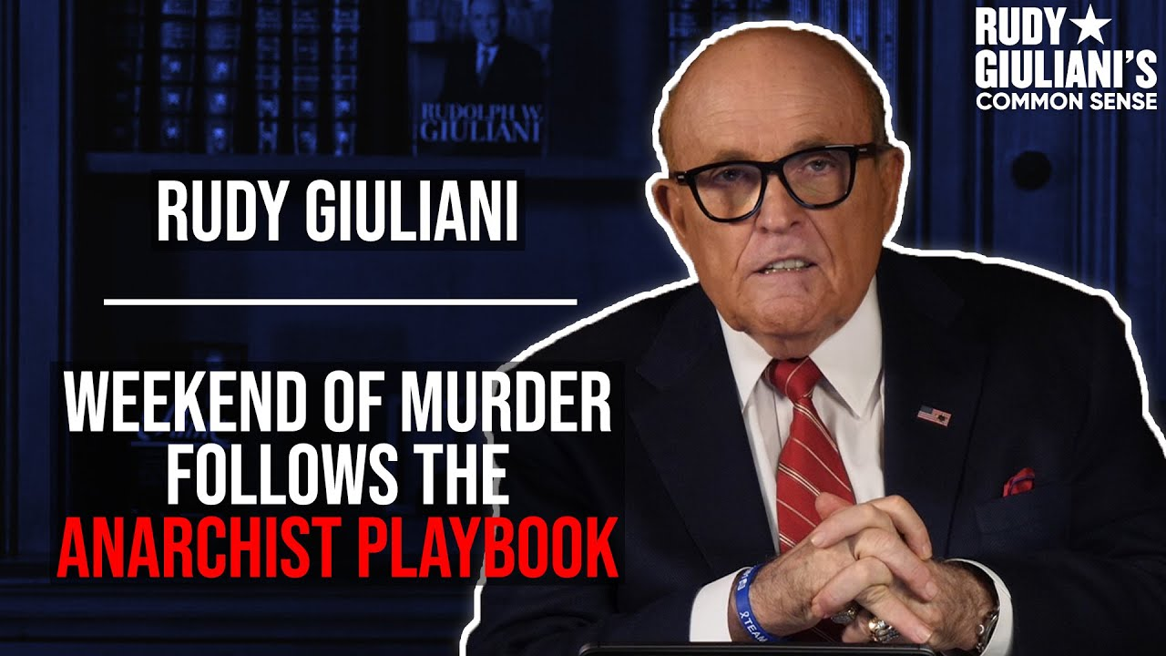 Recent Events Follow The Anarchist Playbook, This Was Predicted | Rudy Giuliani