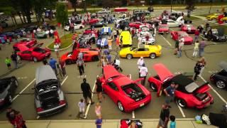 Driven by Purpose for DARE 2014 - Drone Video - Exotic Cars Galore!