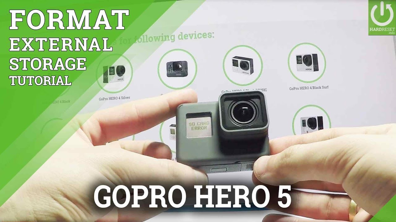 how to choose sd card for gopro