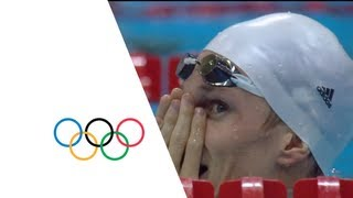 Yannick Agnel (FRA) Wins 200m Freestyle Gold - London 2012 Olympics